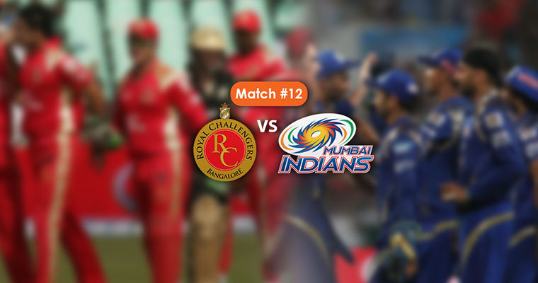IPL 2017 Match 12 RCB vs Mumbai Indians: Preview, Team news likely XIs