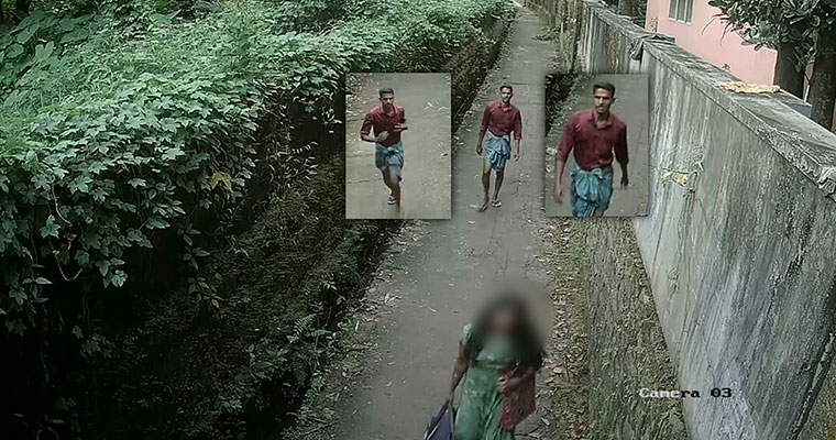 CCTV captures sexual assault on Kerala woman in broad daylight, man arrested