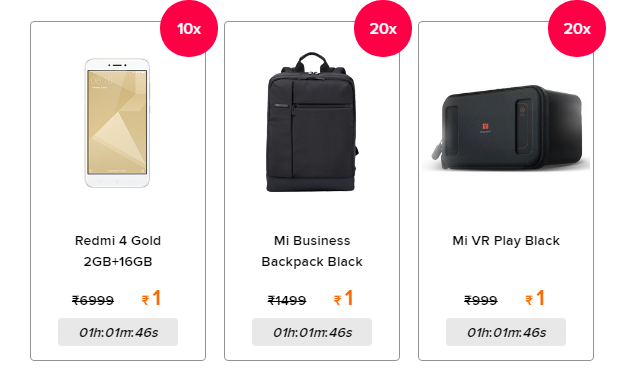 Xiaomi Re 1 Sale At 5pm How To Get The Redmi 4a At Re 1