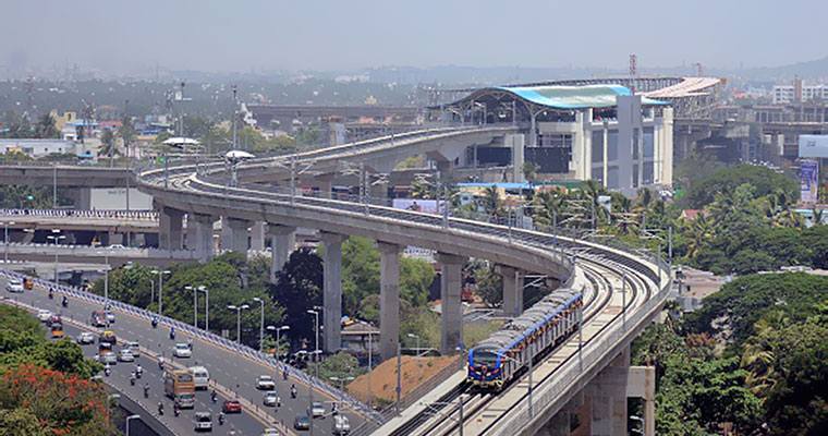Chennai Metro allocates space for the construction of food plaza
