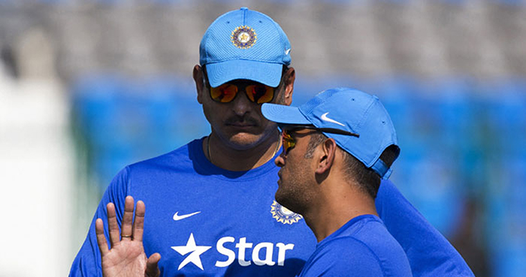 'Those questioning Dhoni should look at their own careers first' Ravi Shastri