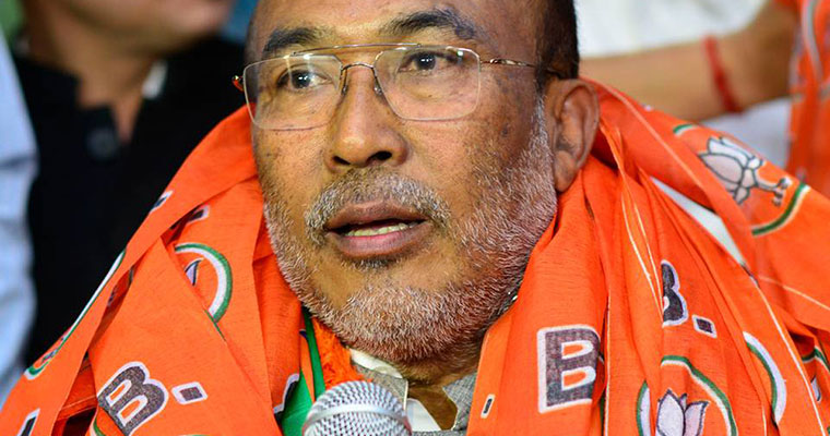 Manipur to get its first BJP-led government under N Biren Singh