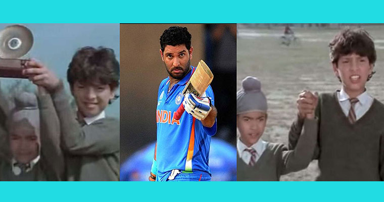 Video: Did you know before Yuvraj Singh became a cricketer; he acted in this Punjabi film?