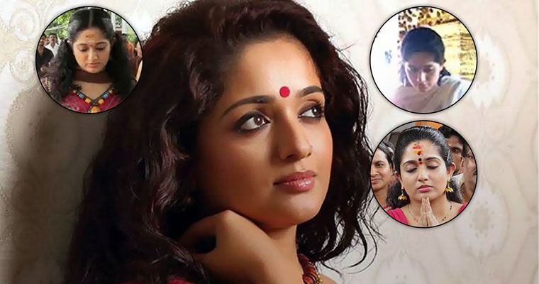 These are the temples Kavya Madhavan has visited since Dileep's arrest