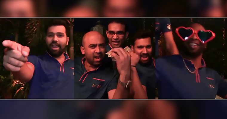 MI viral video: Rohit, Pollard & others dance to 'Tonight's gonna be a good night'