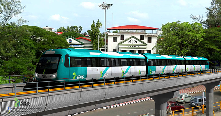 Kochi Metro first phase to be inaugurated in April