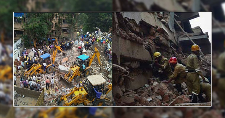 2 dead as century-old building collapses in Kolkata
