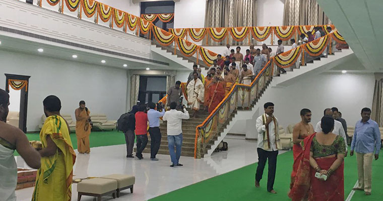Telangana CM KCR gets bulletproof 9-acre home amid cash crunch