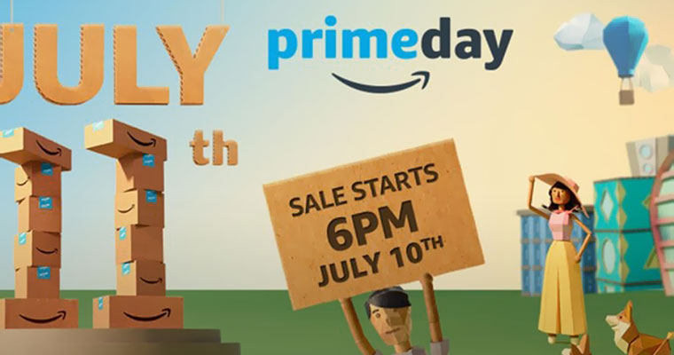 Shoppers Await Big Deals on Amazon Prime Day