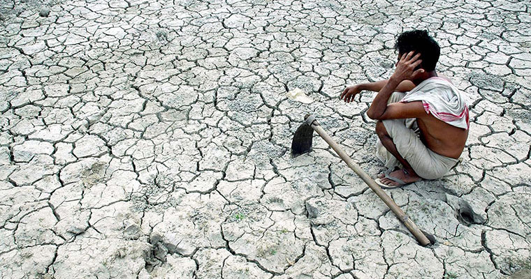 How bad is drought in Andhra? Even at a 1000 feet, there is no water