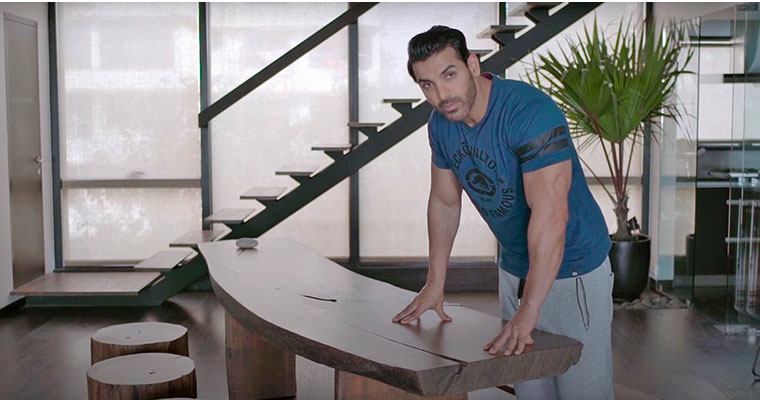 Video + Pictures: Take a tour of John Abraham's luxury penthouse in Mumbai