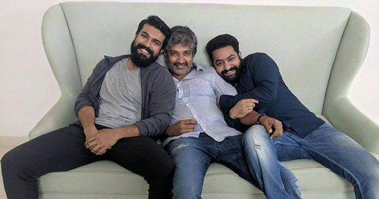 Rajamouli's Multi Starrer movie with Ram Charan, Jr NTR