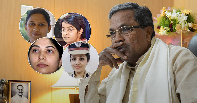 Punished for honesty: In Siddaramaiah's Karnataka, upright women officers a constant target