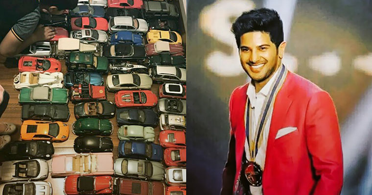Photo: Check out Dulquer Salmaan's miniature car collection