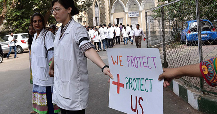 Assault by patients' relatives: Mumbai doctors go on mass leave